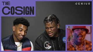 Zias & B. Lou React To Old School Rappers (LL Cool J, N.W.A, 2 Live Crew) | The Cosign