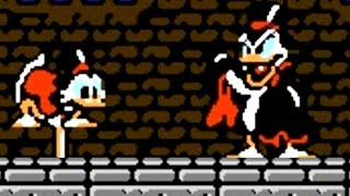 DuckTales 1 & 2 (NES) All Bosses (No Damage)