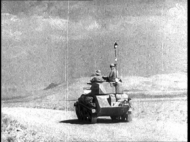 Allies Meet In Iran (1941)