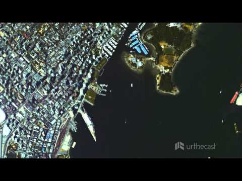 Vancouver Harbour: HD Video from Space, Captured by UrtheCast's Iris Camera