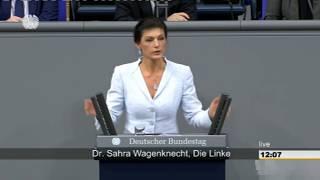 Sahra Wagenknecht: Für ein soziales Europa, das der jungen Generation wieder eine Zukunft gibt!
