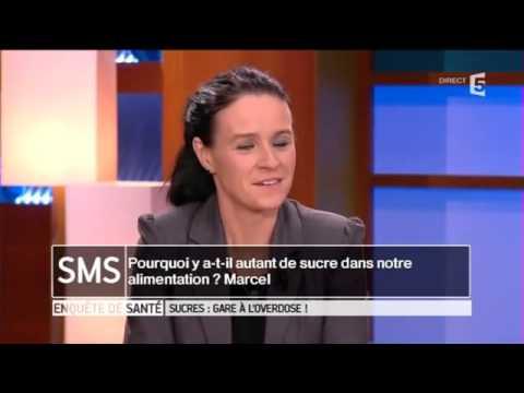 France 5 '' Enquête de santé   Sucre : gare à l'overdose '' .