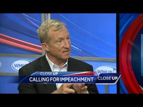 CloseUP: Steyer calls for President Trump's impeachment