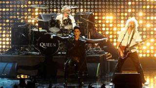 Adam Lambert with Queen - The Show Must Go On, We Will Rock You, We Are the Champions