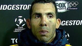 La palabra de Tevez tras el pase a cuartos de final de la Copa Libertadores 2016