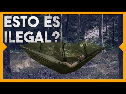 Es LEGAL Acampar en España??? 🙈⛺