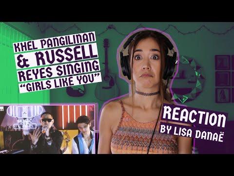 Khel Pangilinan x Russell Reyes - Maroon 5 - Girls Like You (Reaction by Lisa Danaë)