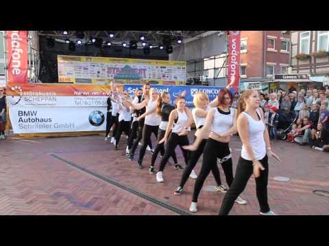 Tanzschule Wöbbekind Stadtfest 2014