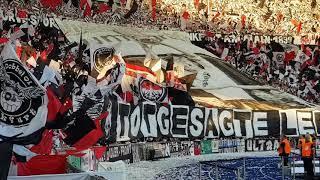19.5.2018 Bayern München - Eintracht Frankfurt 1:3, 1. Hz., Choreo, Choreografie, Stimmung, Support