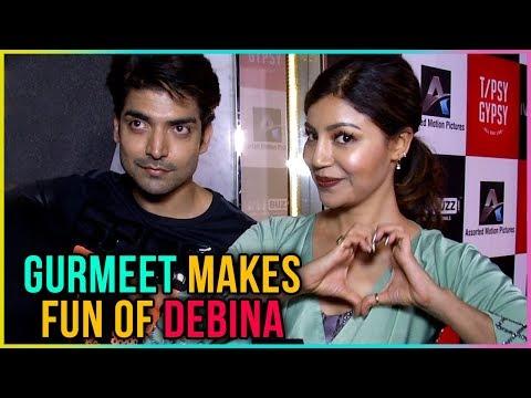 Gurmeet Choudhary MAKES FUN Of Debina Bonnerjee - Exclusive Interview   TellyMasala