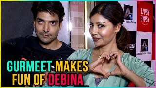 Gurmeet Choudhary MAKES FUN Of Debina Bonnerjee - Exclusive Interview | TellyMasala