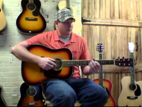 Mic'd Music Indiana Scout Acoustic Guitar Demo