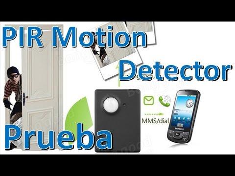 FK-007X PIR Motion Detector Sensor GSM Alarm Configuración Español