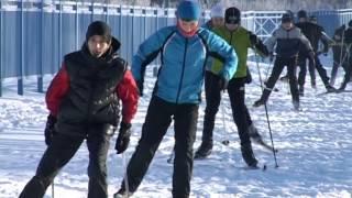 открытый урок лыжи