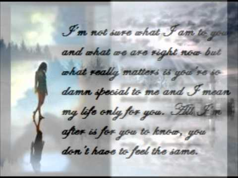Just Tell Me You Love Me Karaoke With Love Quotes Youtube