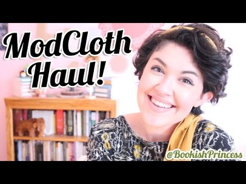 CHATTY MODCLOTH HAUL | BookishPrincess