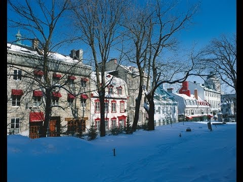 Québec City in Winter - Urban Lifestyle and Culture