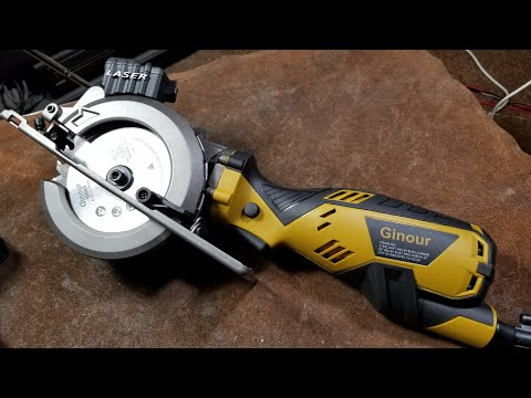 Porter-Cable/Bauer/Rockwell/Ginour Trim Saw Review & TearDown