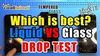Liquid Screen Protectors VS Glass Screen Protectors (skip installation 8:24)