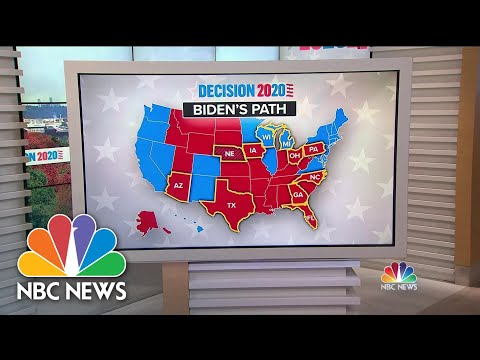 With Nine Days To Go, Trump's Path To Victory Requires A Four State Sweep | NBC