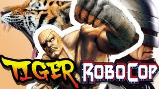 """Tiger Robocop e outras """"Pérolas"""" de Street Fighter II"""