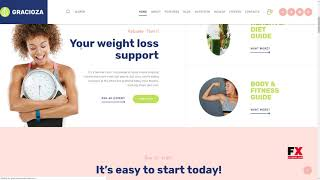 More features and experiences are in : https://fxtheme.com/item/gracioza-weight-loss-blog-wordpress-theme/21532410 ------------------------------------------...