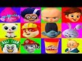 Nick Jr Paw Patrol Mega Board Game with Boss Baby,  Surprise Play-Doh | Ellie Sparkles