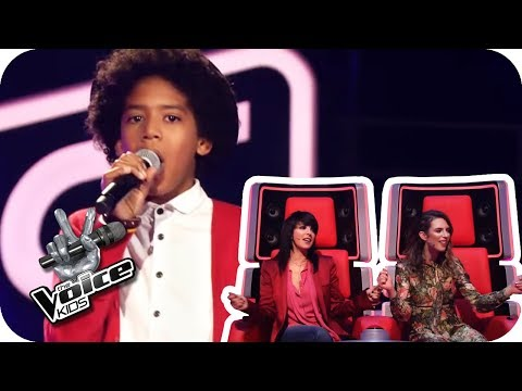 Jackie Wilson - Reet Petite (Yves) | The Voice Kids 2017 | Blind Auditions | SAT.1