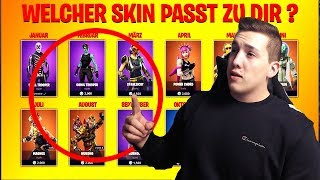 WHAT FORTNITE SKIN PASST TO YOU?! 😱 |⚡️ The Ultimate TEST!⚡️