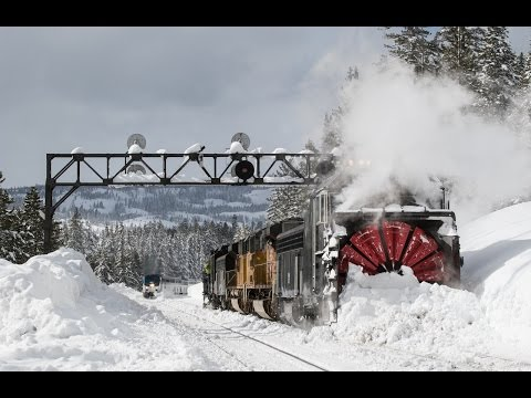 Thumbnail: Rotary Snow Plow Returns to Donner Pass