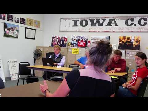 Worth County Iowa Residents Talk About CAFO Problems 1