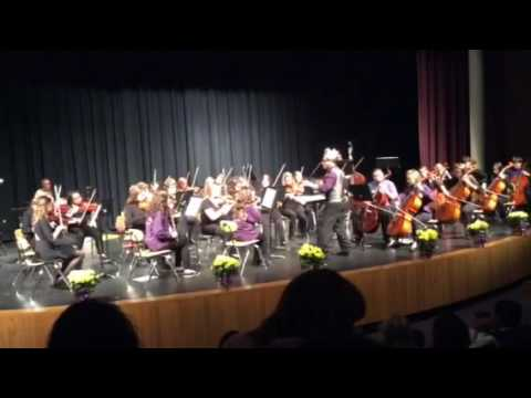 Viva La Vida by Coldplay. Arkansas City High School Orchestra. Ismail Farid, director.