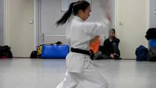 Okinawa Goju Ryu Karate-do. Shisochin kata.