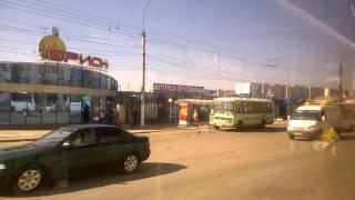 Город Киров из окна автобуса 21 автобусный маршрут 30 апреля 2016 года Улица Воровского   Конечная о