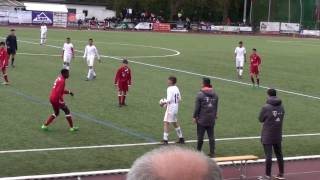 U14 Jhg2003 Galatasaray Istanbul vs FC Bayern München 1:1; ZENDER Talents Cup Merzig 01.05.2017