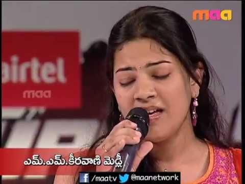 Geetha Madhuri Singing MM Keeravani Medleys