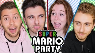 4 YOUTUBERS SUR SUPER MARIO PARTY 🎉