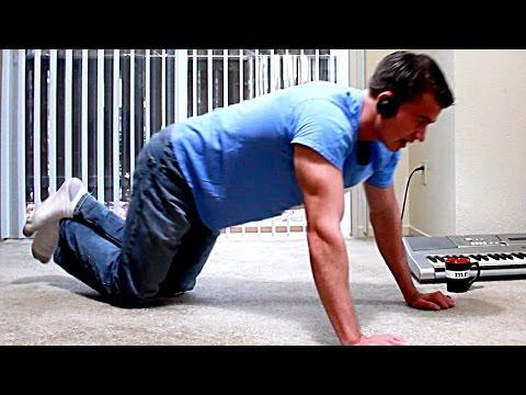 Home Full Body Follow Along Workout   Wireless Headphones Review