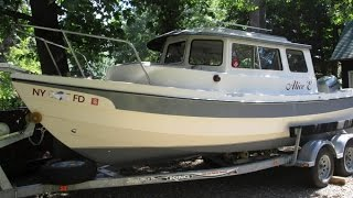 Used 2004 C-dory 22 Cruiser For Sale In Fredonia, New York