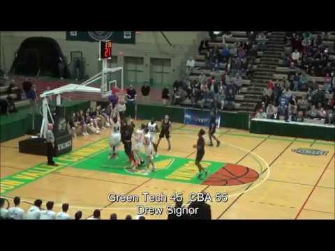 Game Highlights Boys' Varsity: Green Tech 56 vs CBA 62 (F)