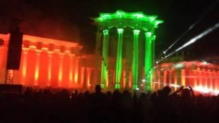 Световое и лазерное шоу ВДНХ лето15г
