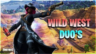(!join) Fortnite wild west duo's with subs. Use code x-ghosty-x in store
