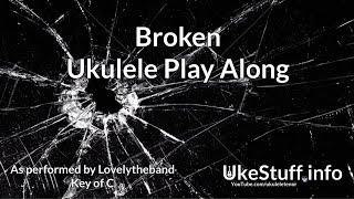 Broken Ukulele Play Along (in C) Video
