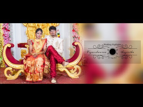 Studio Art Presents wedding highlights of Parish Vignesh & Sugritha at madurai.