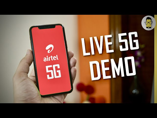 Airtel 5G Live Demo 🔥Mind-boggling Internet Speeds! 😳