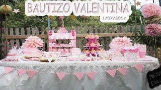 ADELANTO BAUTIZO VALENTINA!!!
