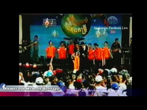Khmer old concert TV   Special Touch Sunnix -The world Of music Old Khmer video sk 9- VHS Khmer old-