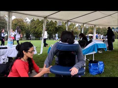 Shiatsu Chair Massage - Charity Pt1