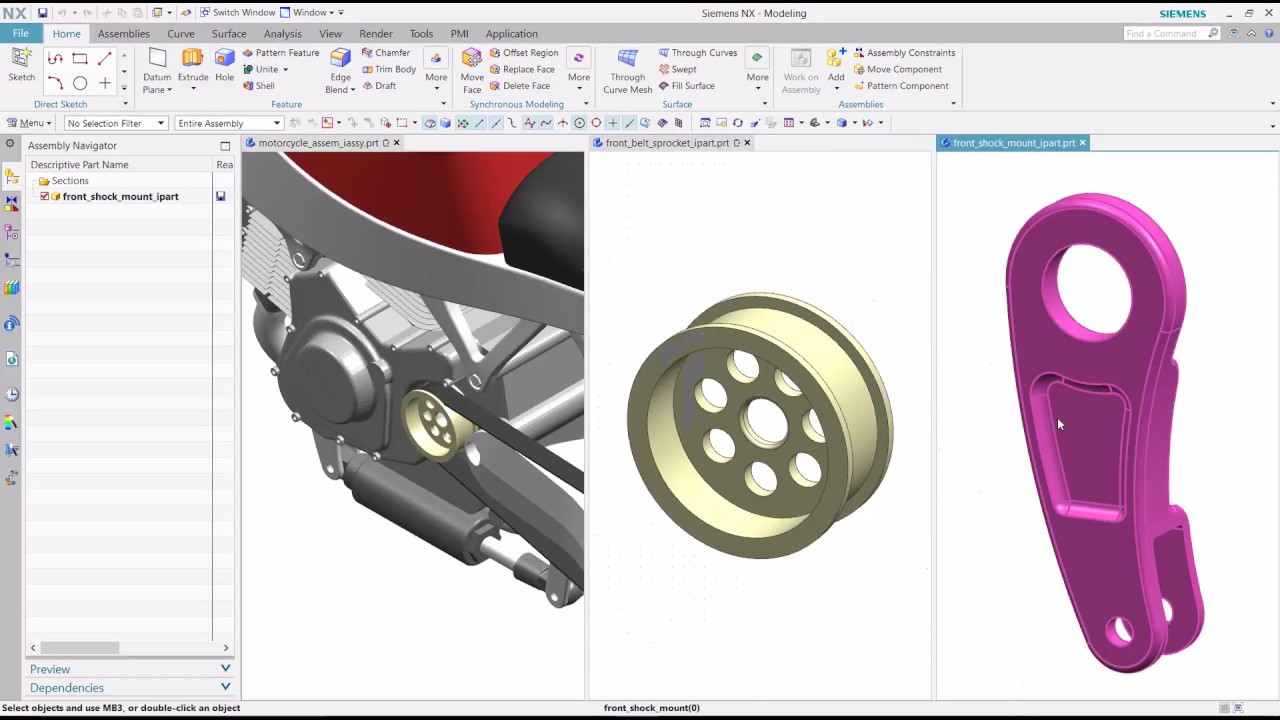 Резултат с изображение за siemens nx 12 multiple part