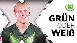 Blond oder Brünette? | Xaver Schlager in Grün oder Weiß | VfL Wolfsburg